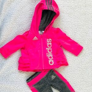 Adidas Baby Girl Track Suit